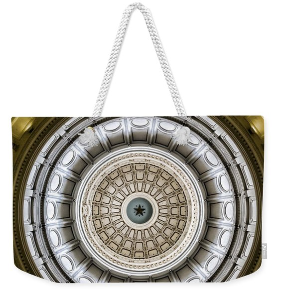 The Eye Of Texas Is Upon You Weekender Tote Bag