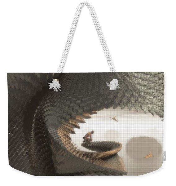 The Eyrie Weekender Tote Bag