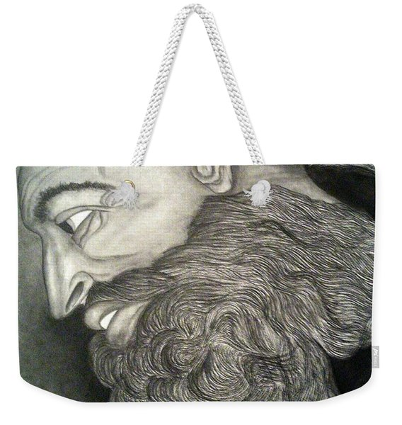 The Face Of God Weekender Tote Bag