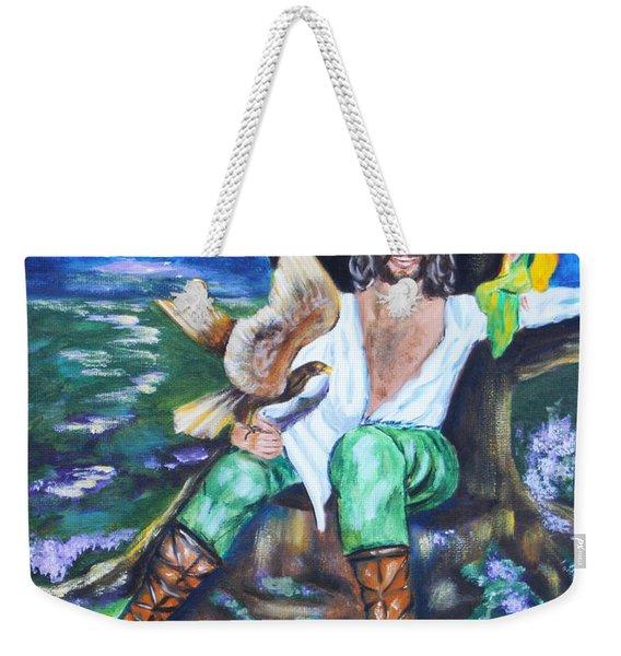 The Faery King Weekender Tote Bag