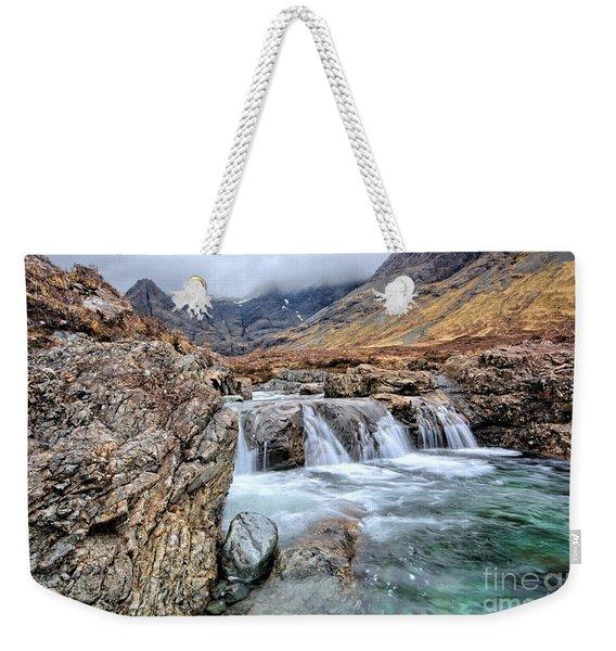 The Fairy Falls Weekender Tote Bag