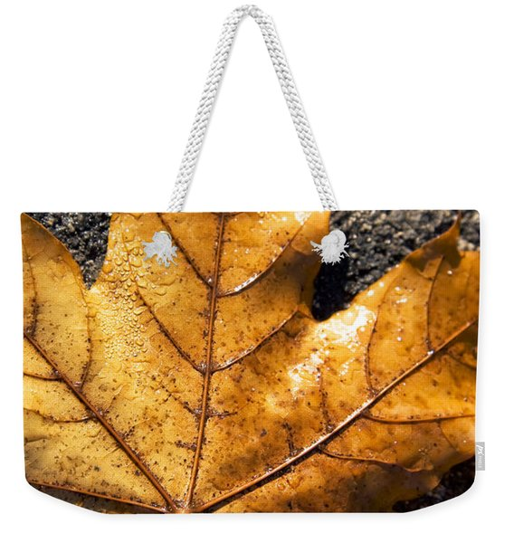 The Fall Of Autumn Weekender Tote Bag
