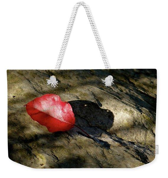 The Fallen Leaf Weekender Tote Bag