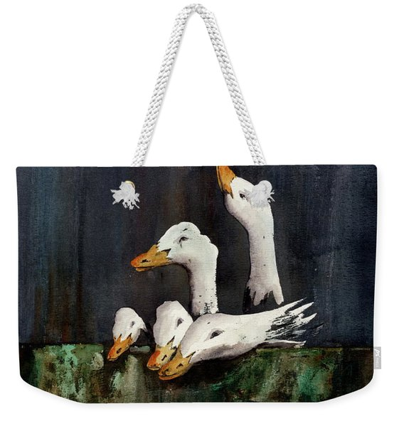 The Family Portrait Weekender Tote Bag