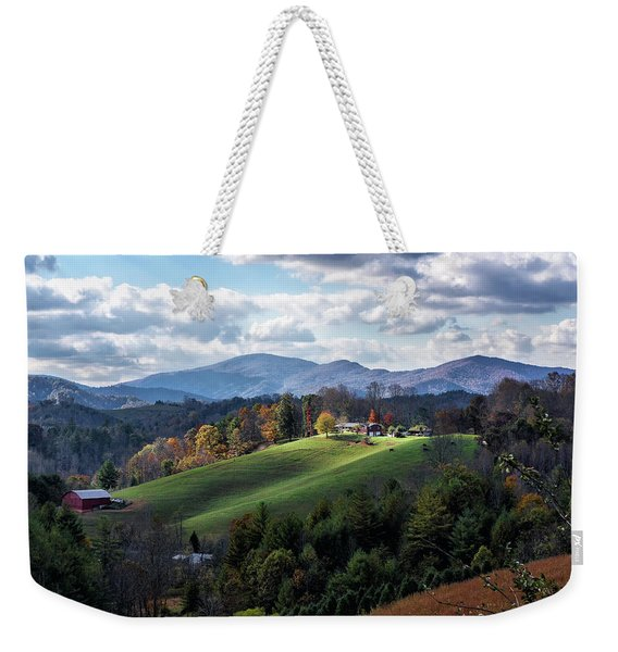 The Farm On The Hill Weekender Tote Bag