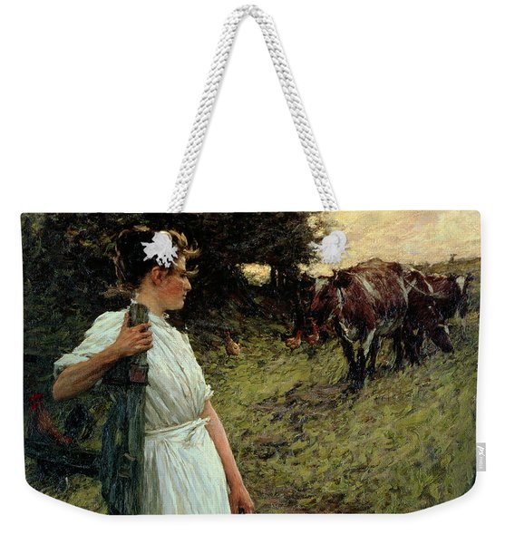 The Farmer's Daughter Weekender Tote Bag