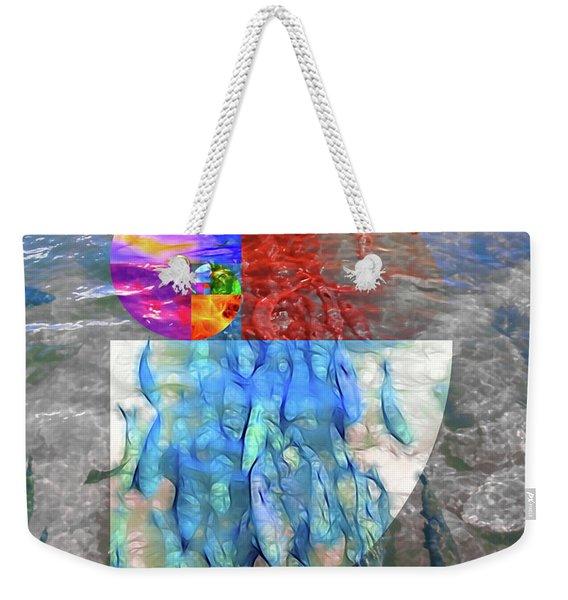 The Fibonacci Migration Weekender Tote Bag