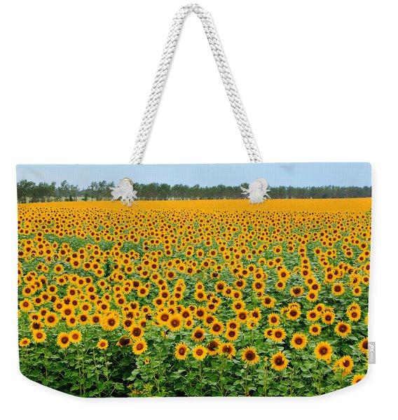 The Field Of Suns Weekender Tote Bag