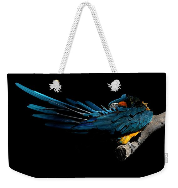 The Fine Art Of Preening Weekender Tote Bag