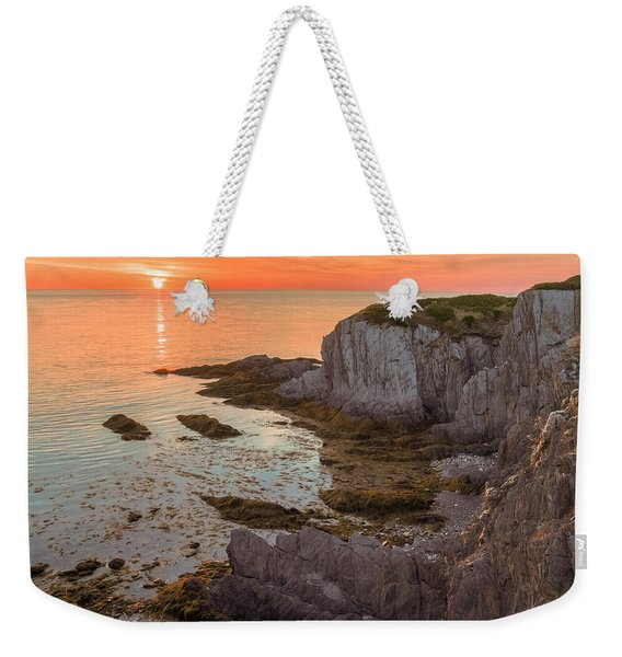 Weekender Tote Bag featuring the photograph Nova Scotian Sunset by Garvin Hunter