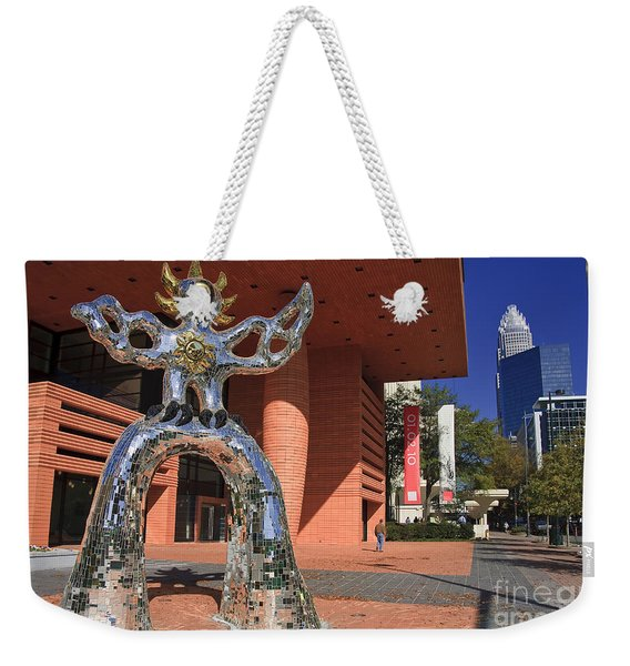 The Firebird At The Bechtler Museum In Charlotte Weekender Tote Bag