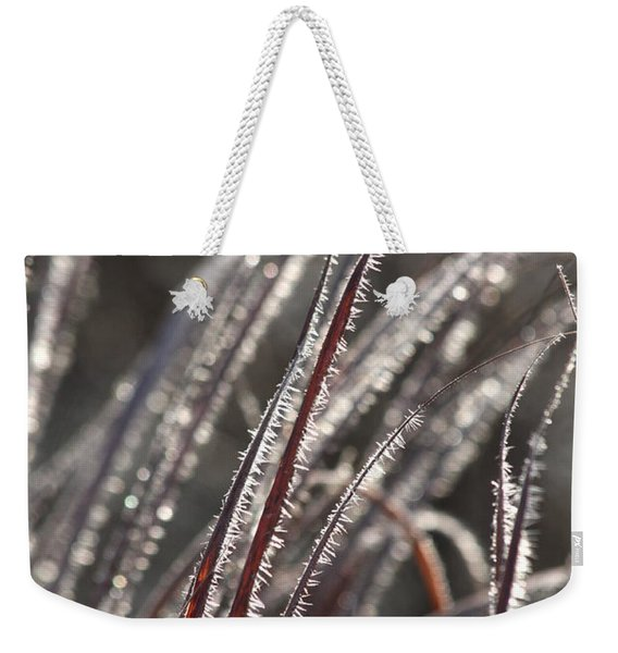 The First Frost Weekender Tote Bag