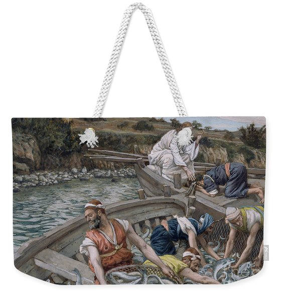 The First Miraculous Draught Of Fish Weekender Tote Bag