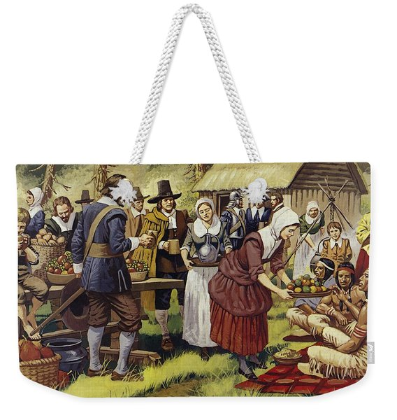 The First Thanksgiving  Weekender Tote Bag
