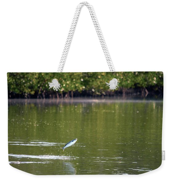 The Fish Are Jumping Weekender Tote Bag