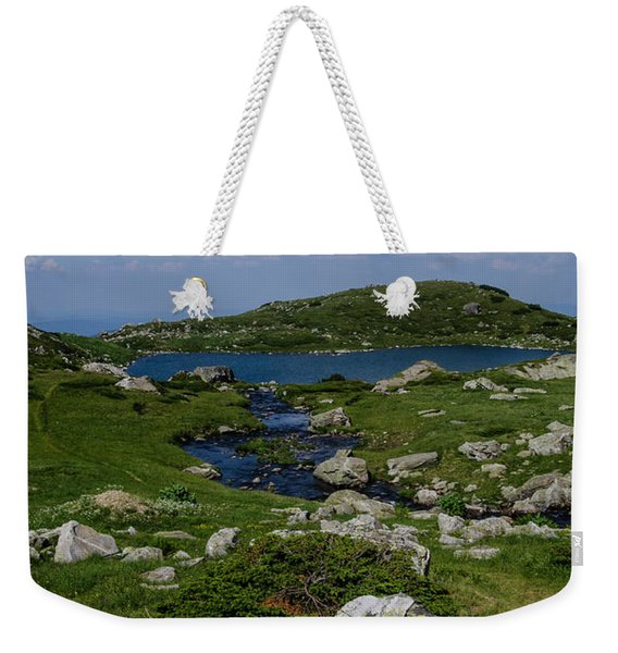 The Fish Lake-rila Lakes Weekender Tote Bag