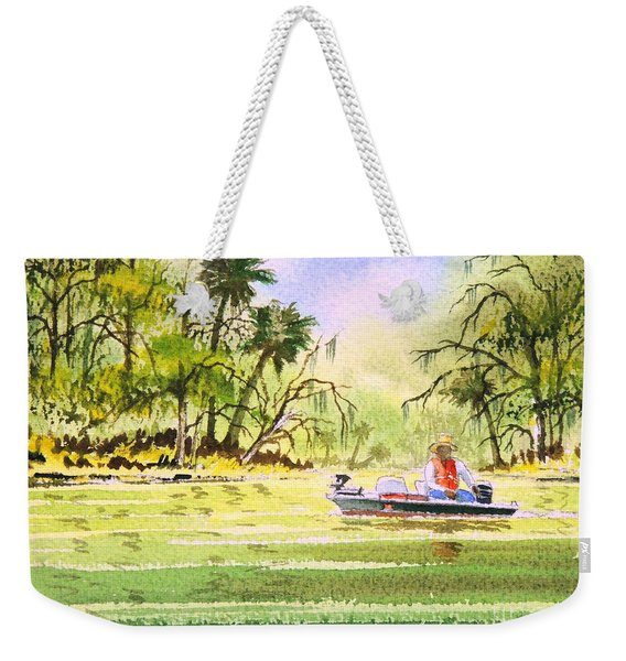 The Fishing Is Done - Heading Home Weekender Tote Bag