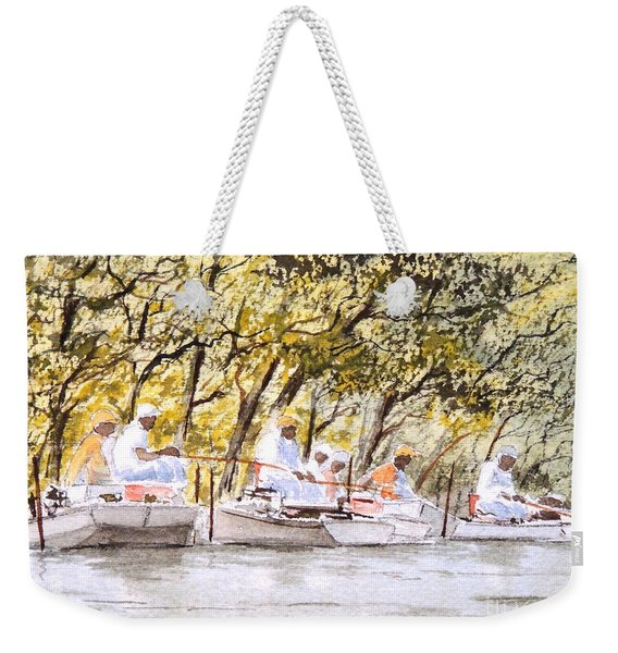 The Fishing Party Weekender Tote Bag
