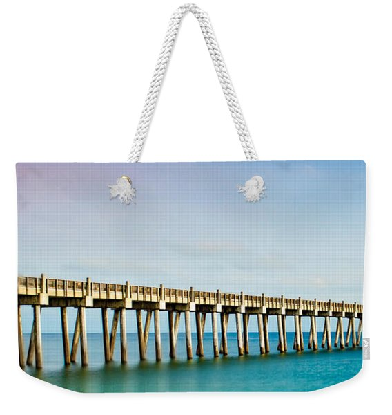The Fishing Pier Weekender Tote Bag