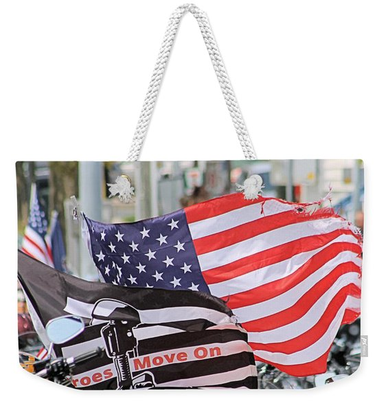 The Flags Of Heroes Weekender Tote Bag