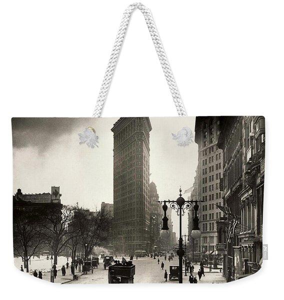 The Flatiron Building Weekender Tote Bag