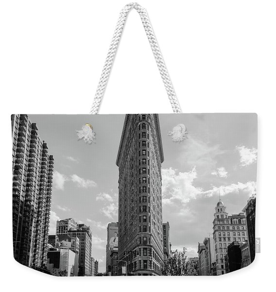 The Flatiron Building New York Weekender Tote Bag