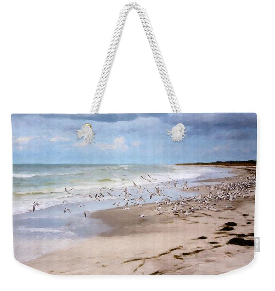 The Flock Weekender Tote Bag