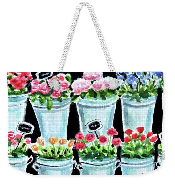 The Flower Shop Weekender Tote Bag