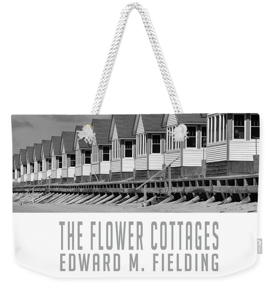 The Flower Cottages By Edward M. Fielding Weekender Tote Bag