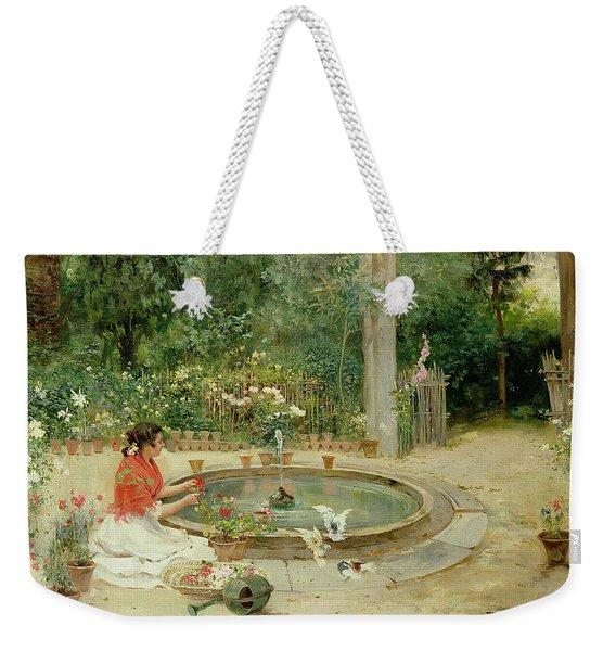 The Flower Garden Weekender Tote Bag