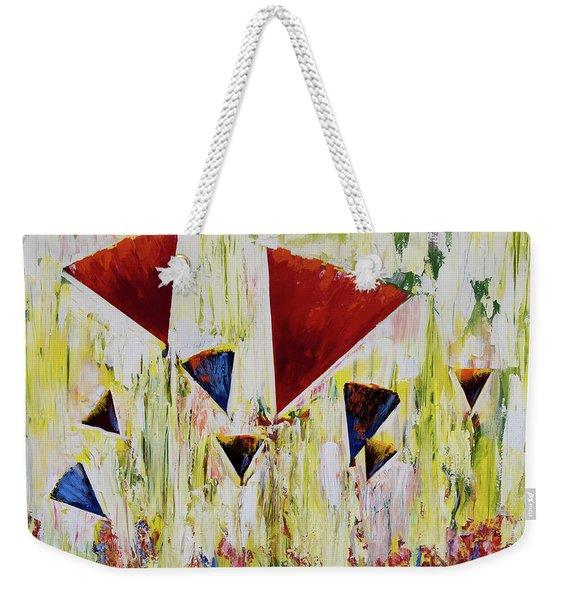 The Flower Party Weekender Tote Bag