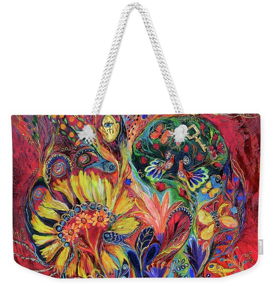 The Flowering Weekender Tote Bag