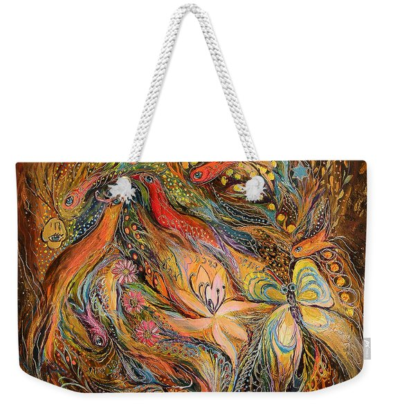 The Fluids Of Love Weekender Tote Bag