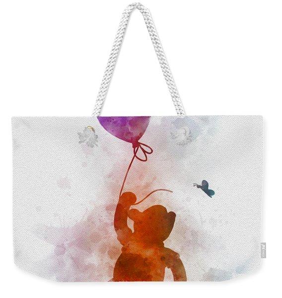 The Flying Bear Weekender Tote Bag