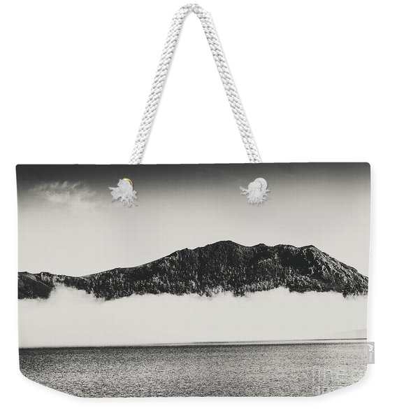 The Fog And The River Weekender Tote Bag