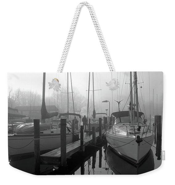 The Fog Is Lifting Weekender Tote Bag