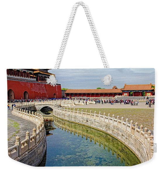 The Forbidden City Weekender Tote Bag