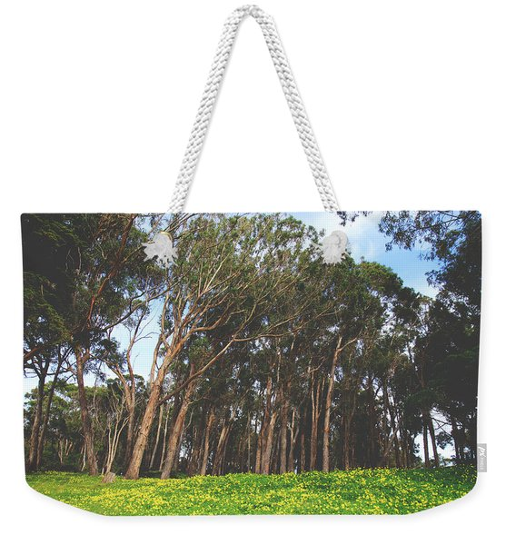 The Forest Awaits Weekender Tote Bag