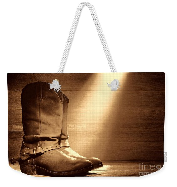 The Found Boots Weekender Tote Bag