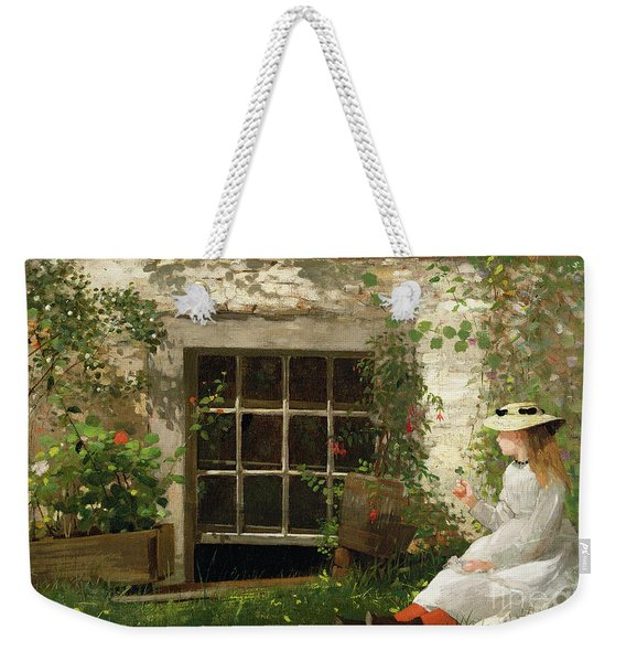 The Four Leaf Clover Weekender Tote Bag