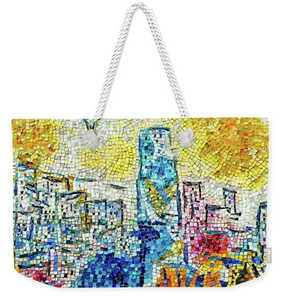 The Four Seasons Chicago Portrait Weekender Tote Bag