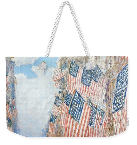 The Fourth Of July Weekender Tote Bag