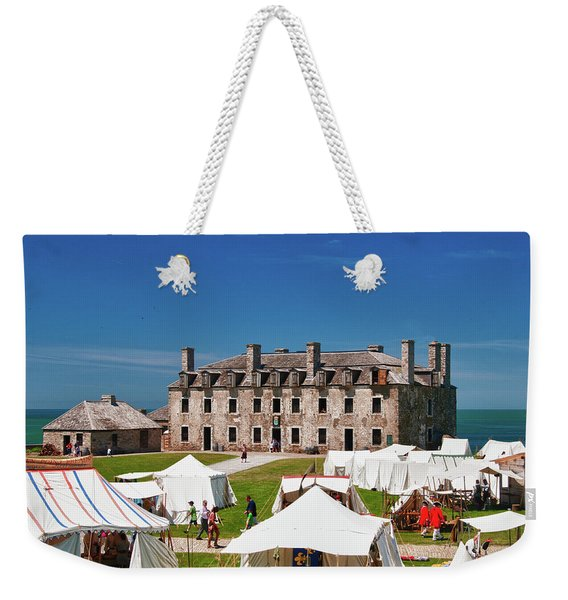 The French Castle 6709 Weekender Tote Bag