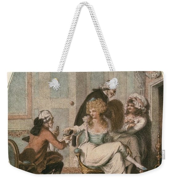 The French Fireside, After An 18th Weekender Tote Bag