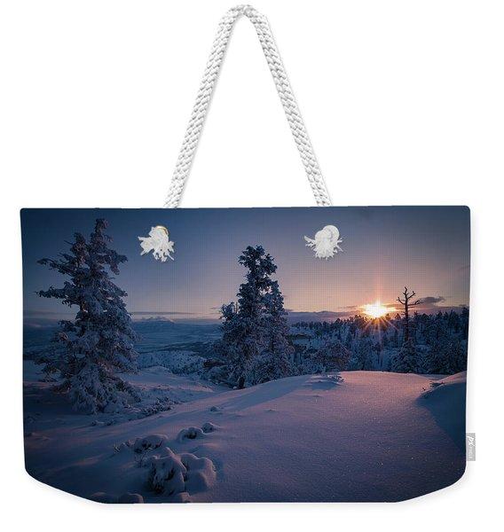 The Frozen Dance Weekender Tote Bag