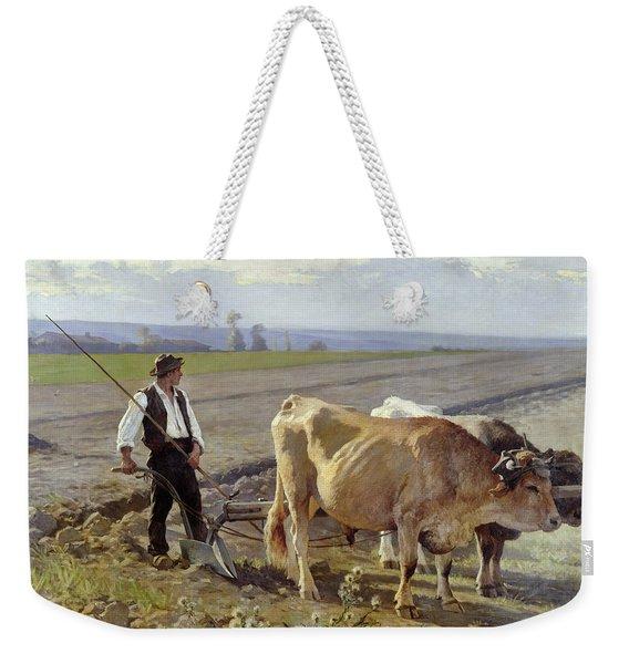 The Furrow Weekender Tote Bag