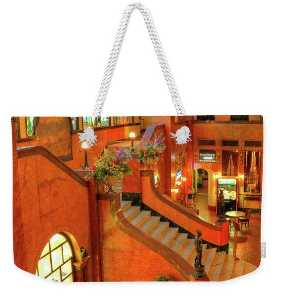 The Gadsden Hotel In Douglas Arizona Weekender Tote Bag