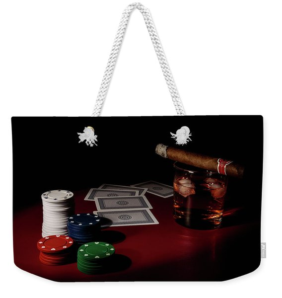 The Gambler Weekender Tote Bag