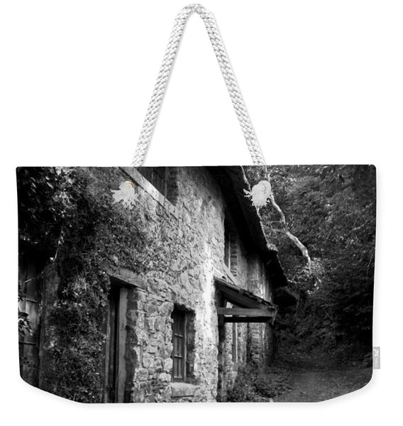 Weekender Tote Bag featuring the photograph The Game Keepers Cottage by Michael Hope