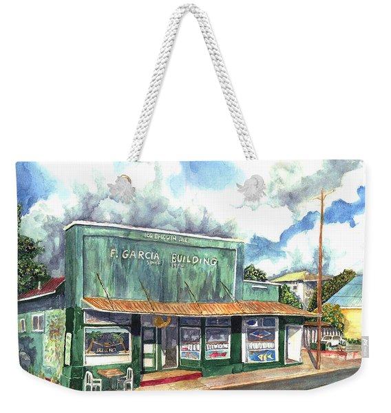 The Garcia Building Weekender Tote Bag